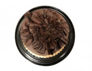 Autumn Flower Chocolate Mousse Cake (8