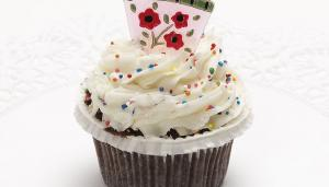 Chocolate Cupcake Vanilla Frosting