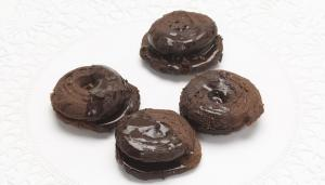 Chocolate Horn Cookies