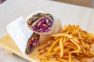 Portabello Shawarma Wrap