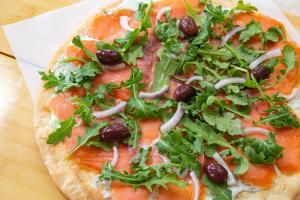 Schwartz's Norwegian Lox Pizza